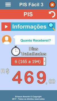 PIS Fácil apk screenshot