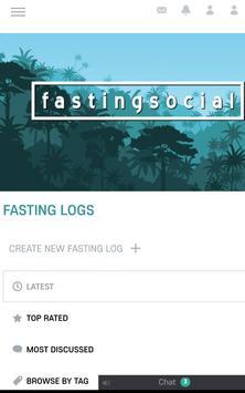 Fasting Social poster
