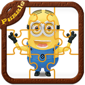 Cartoons Puzzles Game for Kids icon