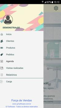 Força de Vendas G7 Software apk screenshot