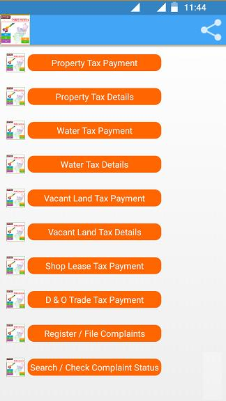 Gvmc water tax online payment