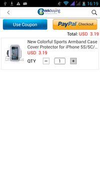 GeekBuying Online Shopping apk screenshot