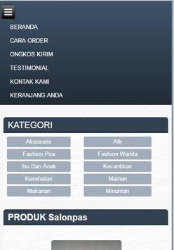 Demo Toko Android apk screenshot