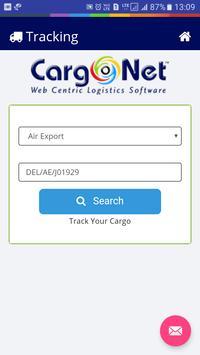 CargoNet - Tracking (Beta) screenshot 1