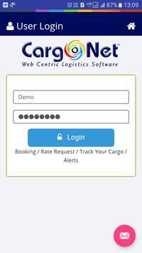 CargoNet - Tracking (Beta) screenshot 4