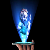 Chucky Hologram 3D Joke icon