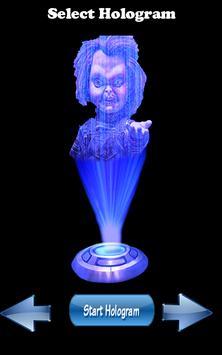 Chucky Hologram 3D Joke apk screenshot