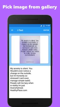 Image to text converter / text scanner screenshot 2