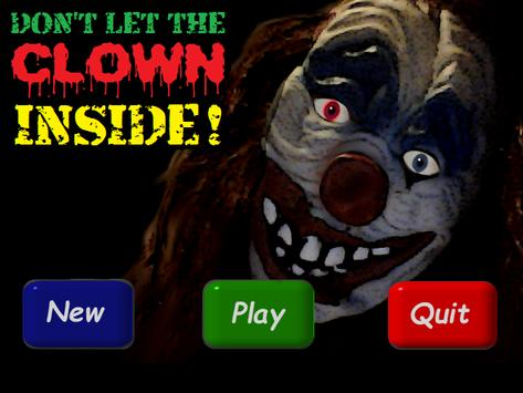 DONT LET THE CLOWN INSIDE! poster
