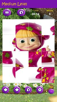 Puzzles game for Masha and the Bear screenshot 4