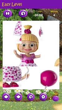 Puzzles game for Masha and the Bear screenshot 6