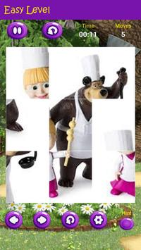 Puzzles game for Masha and the Bear screenshot 1