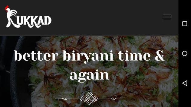 Kukkad- Biryani & Devourers screenshot 2