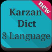 8 Languages (Karzan Dict) icon