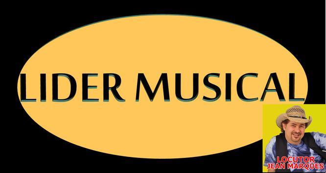 RÁDIO LÍDER MUSICAL poster