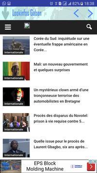 Look Infos Gabon screenshot 4