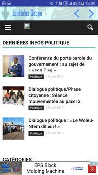 Look Infos Gabon screenshot 5