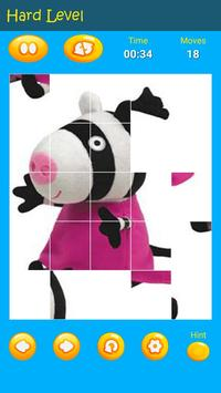 Puzzles game for Pepa toys Pig screenshot 3