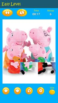 Puzzles game for Pepa toys Pig poster