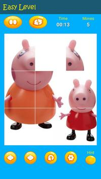 Puzzles game for Pepa toys Pig screenshot 11