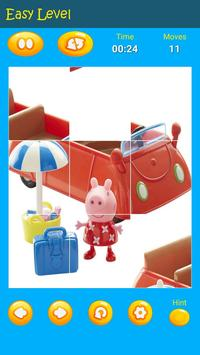 Puzzles game for Pepa toys Pig screenshot 12