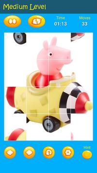 Puzzles game for Pepa toys Pig screenshot 1