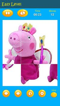 Puzzles game for Pepa toys Pig screenshot 2