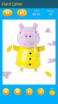 Puzzles game for Pepa toys Pig screenshot 7