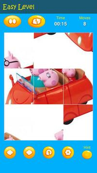 Puzzles game for Pepa toys Pig screenshot 4