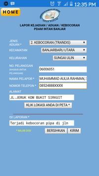 Informasi PDAM Intan Banjar screenshot 2