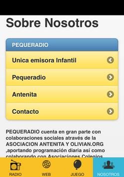 Pequeradio apk screenshot