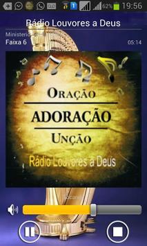 Rádio Louvores a Deus screenshot 3