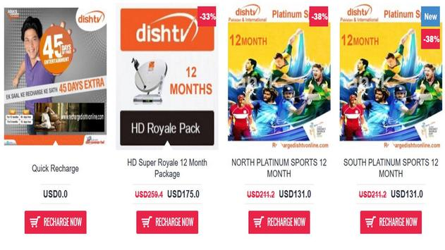 Dish Tv Recharge Online apk screenshot