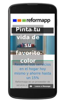 Reformapp Reformas Barcelona (Unreleased) apk screenshot