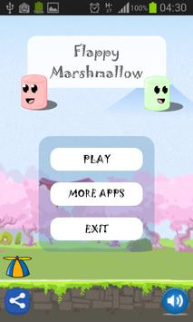 Floating Marshmallow poster