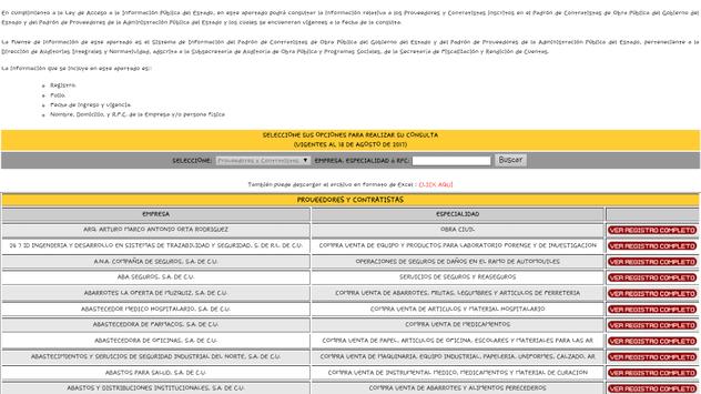 Sippc Coahuila screenshot 2