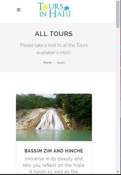 Tours in Haiti apk screenshot