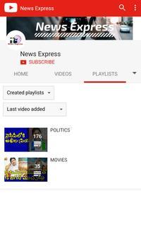 News Express Youtube apk screenshot
