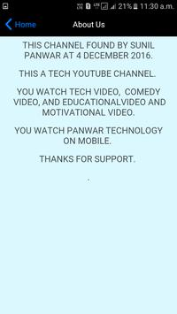 PANWAR TECHNOLOGY poster