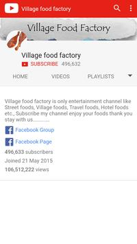 Village Food World poster