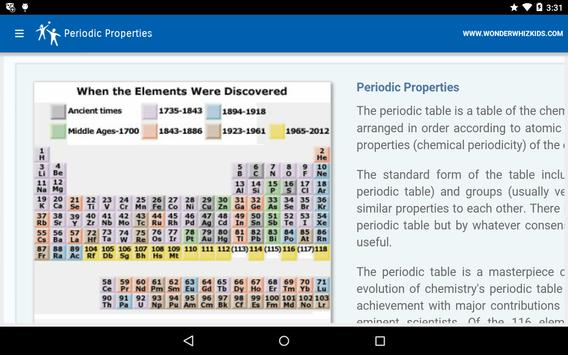 Periodic properties apk download free education app for android periodic properties apk screenshot urtaz Image collections