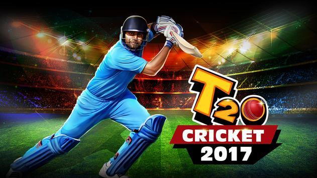 T20 Cricket Game 2017 पोस्टर
