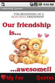 Friendship Quotes! BFF poster