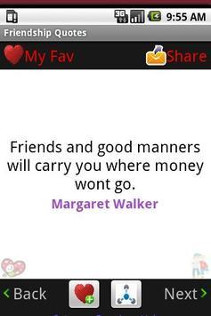 Friendship Quotes! BFF apk screenshot