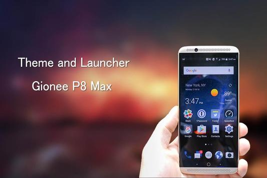 Theme for Gionee P8 Max poster