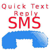 Quick Text Reply Full icon