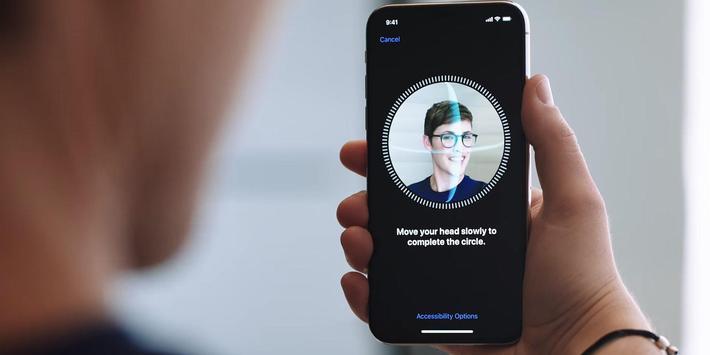 IPhone X Face ID Lock Screen Prank poster