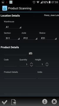 TMG Inventory Scan apk screenshot