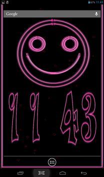 Clock Smile Free LWP poster