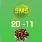 Tin nhắn chúc 20-11 kute icon